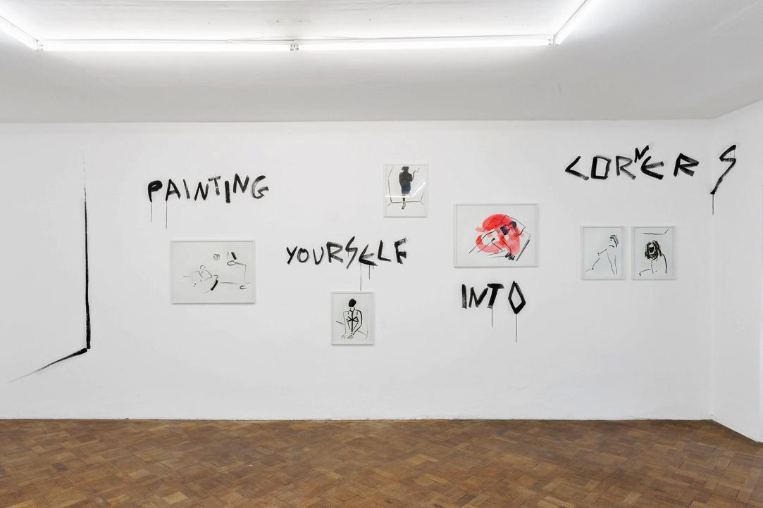 Ausstellungsansicht, Panos Papadopoulos, Büro Weltausstellung, 2018, Foto: Marcel Koehler