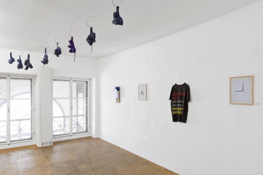 Ausstellungsansicht Multiples SPEED, Christian Eisenberger / Rade Petrasevic / Martin Grandits / Panos Papadopoulos, Büro Weltausstellung, 2018