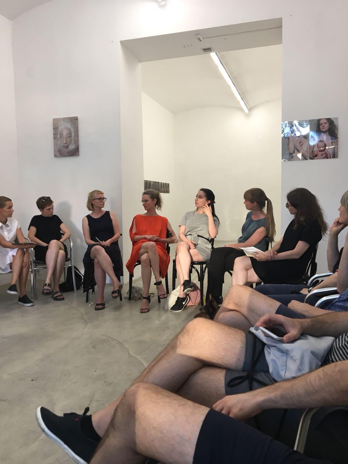 Artist-Talk, Intersection #1, 20.6.2018, Galerie Kunstbüro