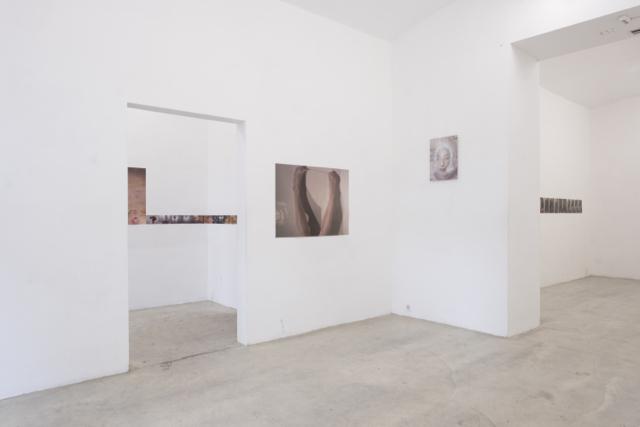 Ausstellungsansicht, Intersections #1, Galerie Kunstbüro, 2018, Foto: Corinne Rusch