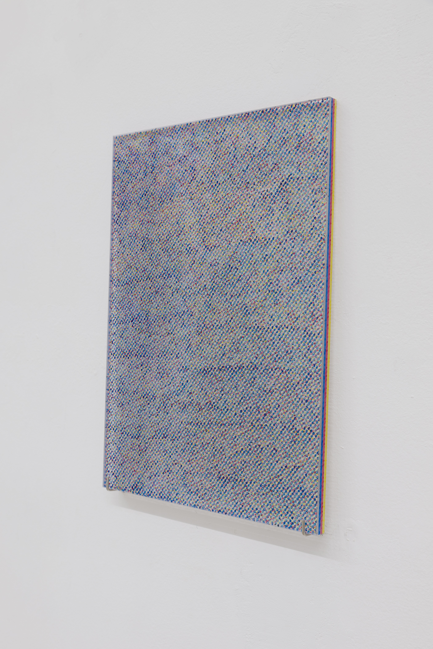 Yuki Higashino, Grey Monochrome 2, Acrylic paint on Plexiglas, 2018