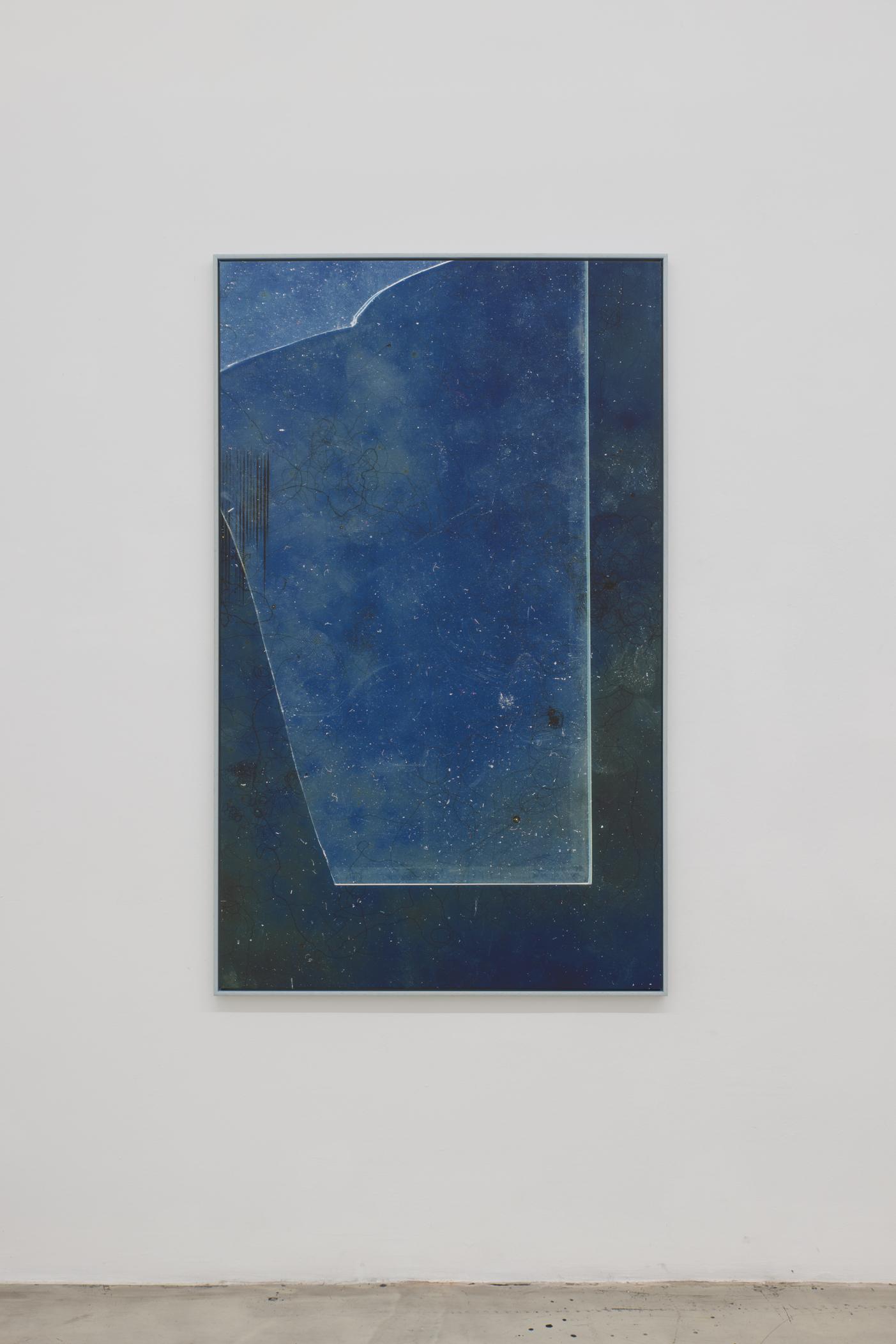 Mladen Bizumic,  ALBUM (Boesner Framing Glass Scan),  Ultrachrome inkjet on canvas,  2018, Courtesy of the artist & Georg Kargl Fine Arts, Vienna