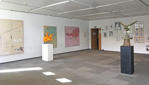 Installationsansicht, Büro Weltausstellung @Parallel Vienna 2018