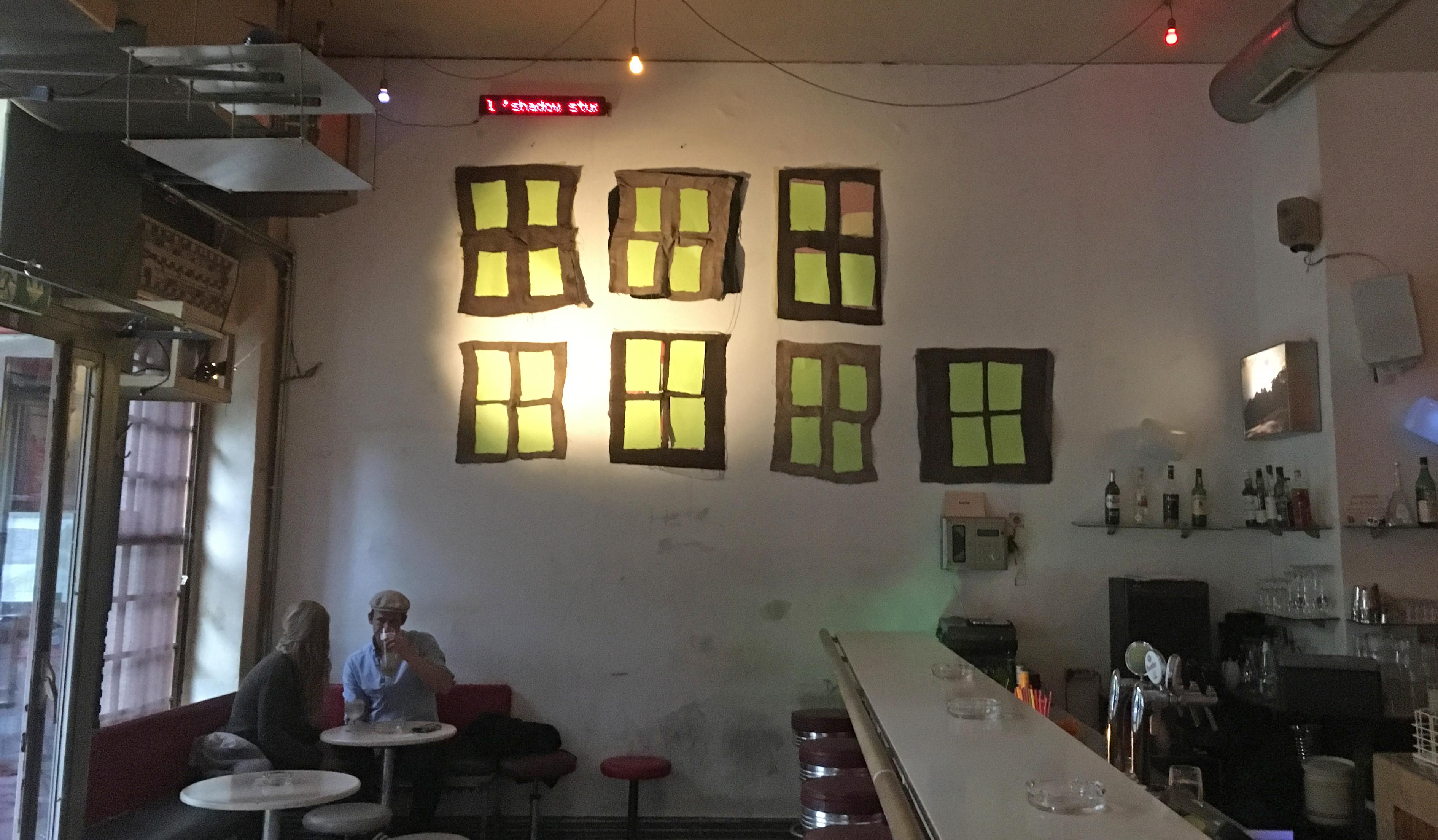 """JOSIP NOVOSEL, Installation """"shadowstudies"""", Gegenwartsbild, Futuregarden"""