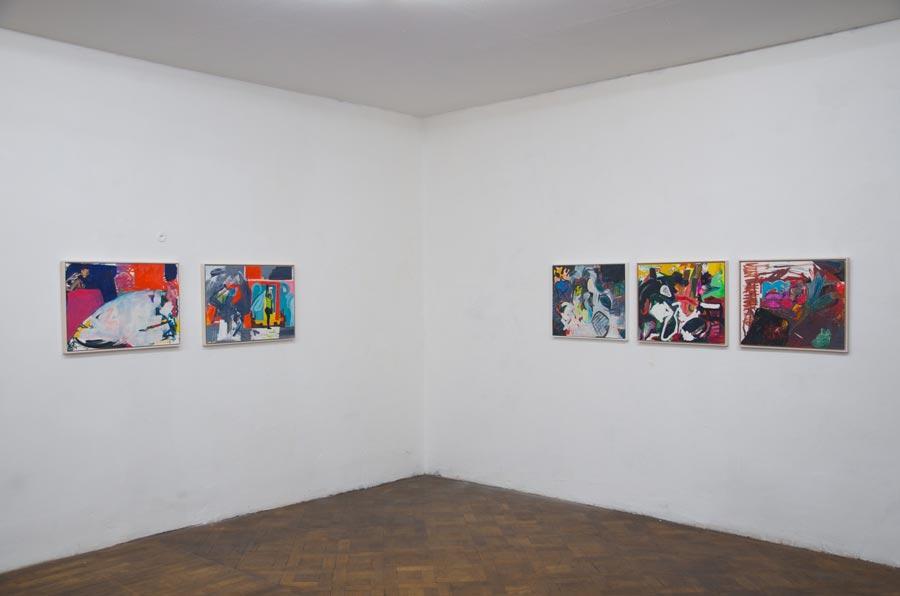 Olivia Kaiser, Installationsansicht Büro Weltausstellung
