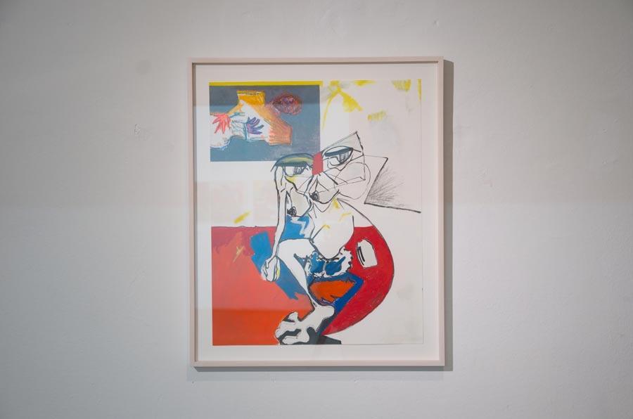 "Olivia Kaiser, ""Spottvogel2"", 2014, 29,7 × 42 cm"