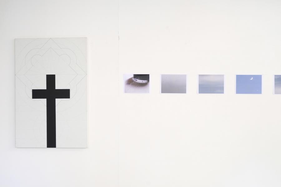Installationsansicht, Franz Graf / Giorgi Sumbadze, Foto: Corinne Rusch