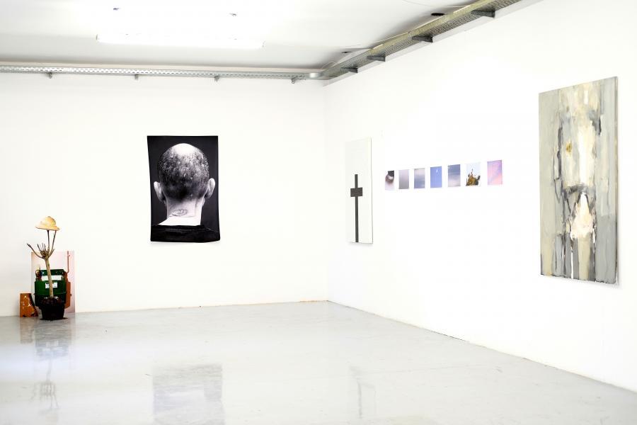 Installationsansicht: Tsereteli Vakhtang / Franz Graf / Giorgi Sumbadze / Bugadze Vakhtang, Foto: Corinne Rusch