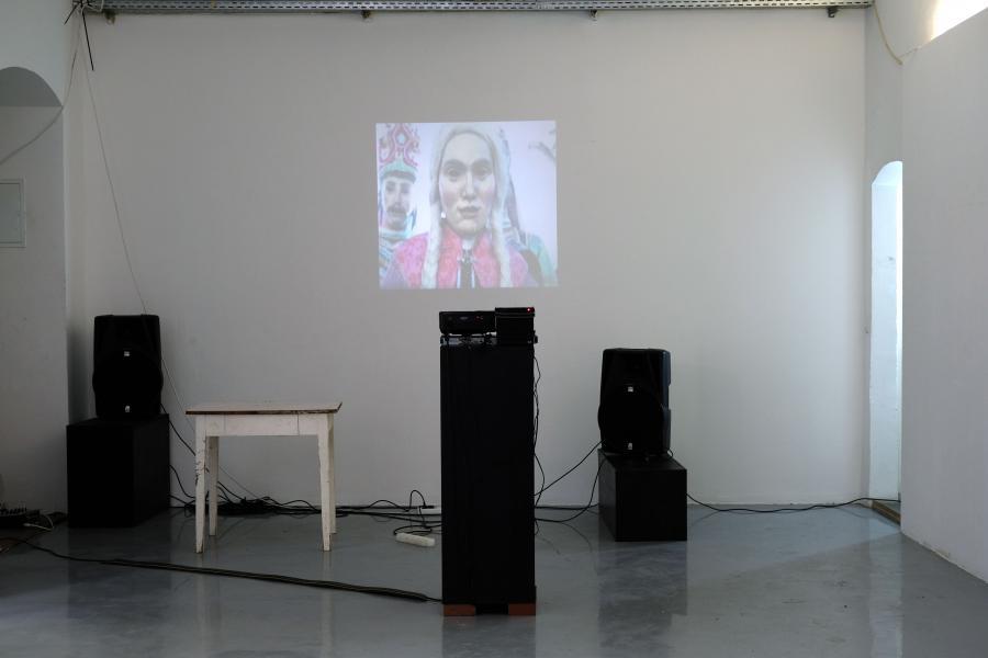 Installationsansicht: Herwig Weiser & Philipp Quehenberger, Foto: Corinne Rusch