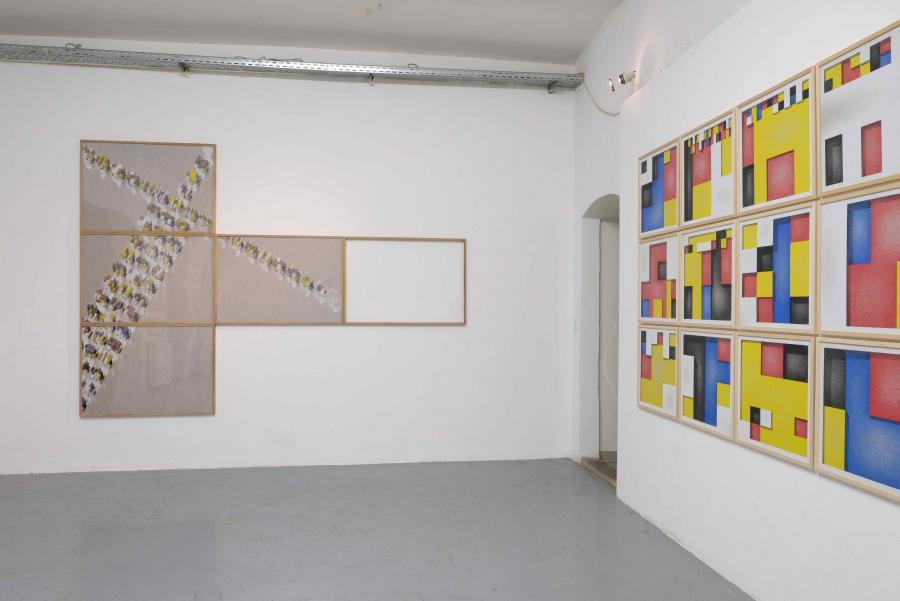Ausstellungsansicht, Florian Unterberger, Kunstraum am Schauplatz, 2017