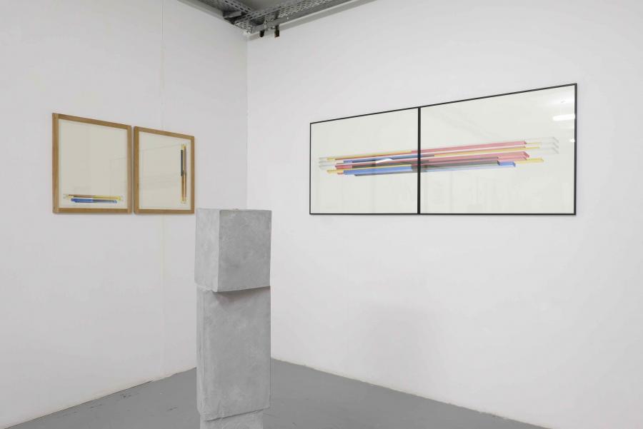 Ausstellungsansicht Peter Pilz&Florian Unterberger, Kunstraum am Schauplatz, 2017