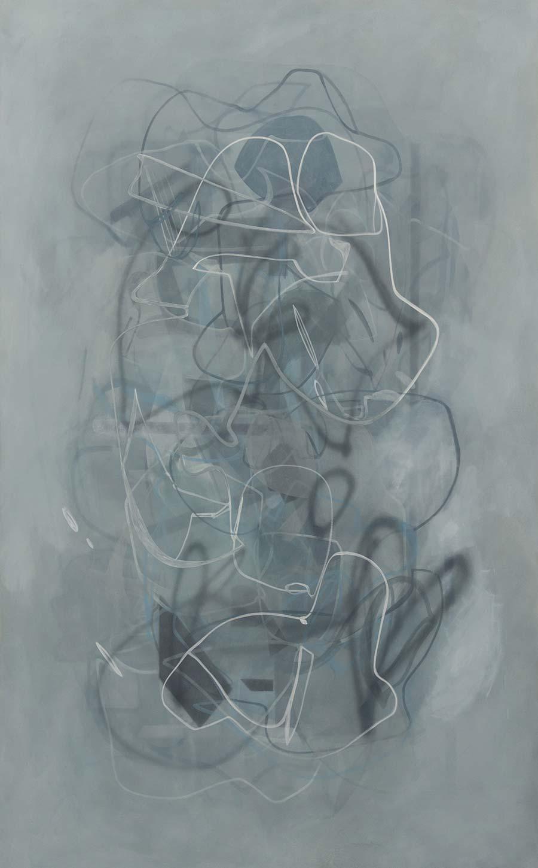 Ute Müller, o.T. untitled, 2014, 200x150cm, Eitempera auf Molino