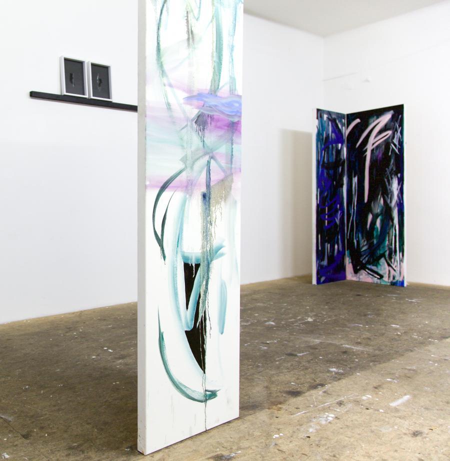 Nino Sakandelidze, installation view, Büro Weltausstellung 2015