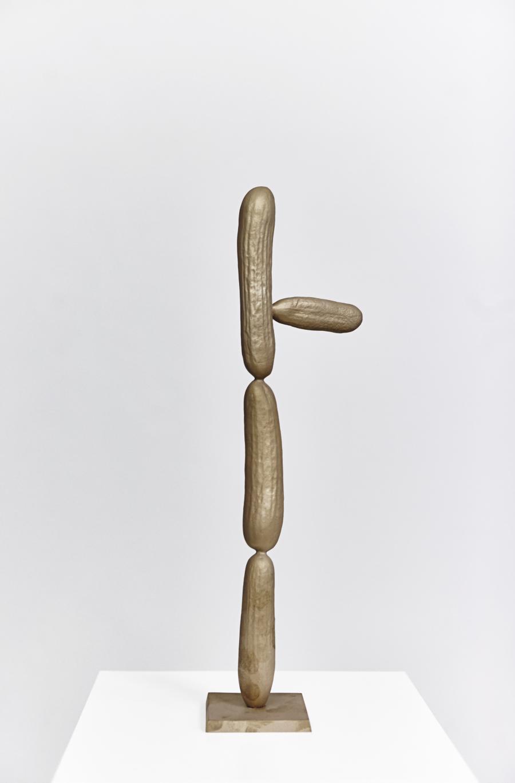 Erwin Wurm | Gurken Modernistisch III | 2016 | Bronze patiniert | 45 x 12,5 x 8,5 cm | Version 1/5   2 AP