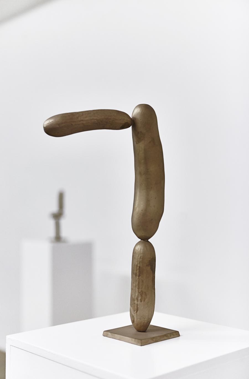 Erwin Wurm | Gurken Modernistisch I | 2016 | Bronze patiniert | 36,5 x 20 x 8,5 cm | Version 1/5   2 AP