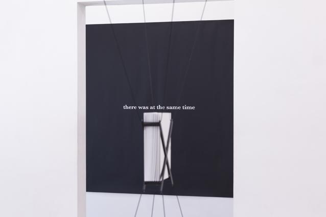 Ausstellungsansicht, Andreas Fogarasi, Foto: Björn Segschneider