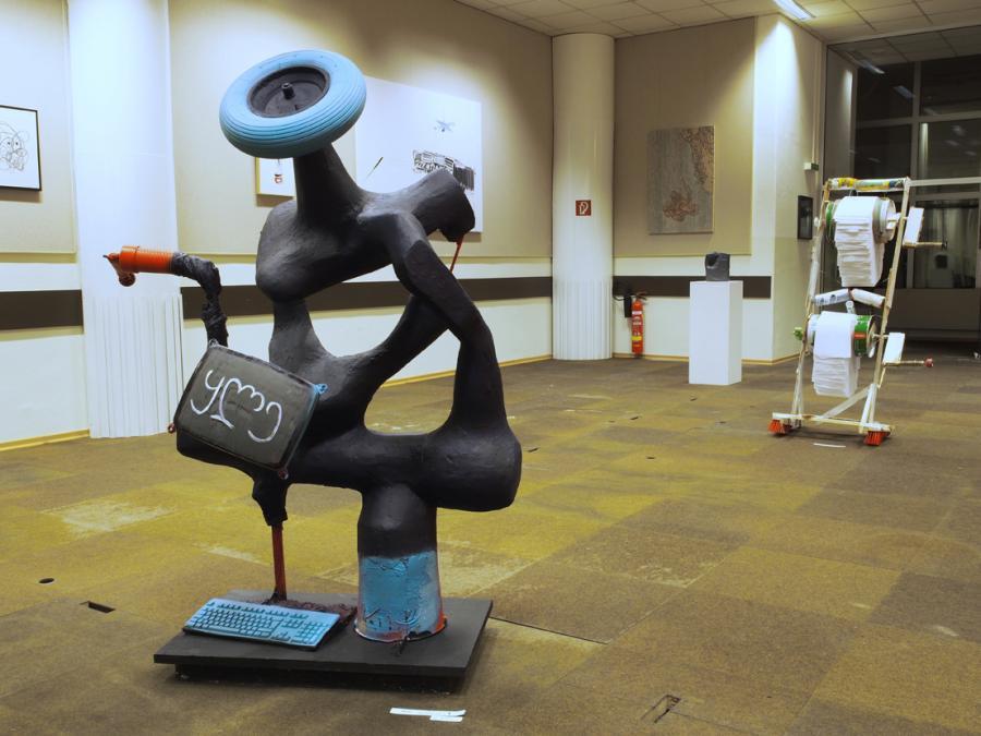 Installationsansicht, Ausstellung BOYS DON'T CRY, BEGI GUGGENHEIM, Foto Janina Lenz