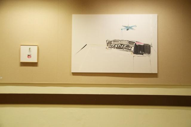 Installationsansicht, Ausstellung BOYS DON'T CRY, PANOS PAPADOPOULOS, Foto Janina Lenz