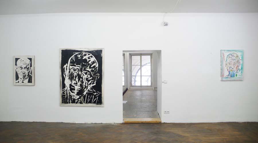 Michi Lukas, Installationsansicht