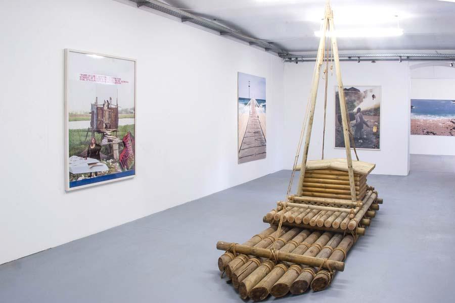 Elke Silvia Krystufek, Installationsansicht Kunstraum am Schauplatz
