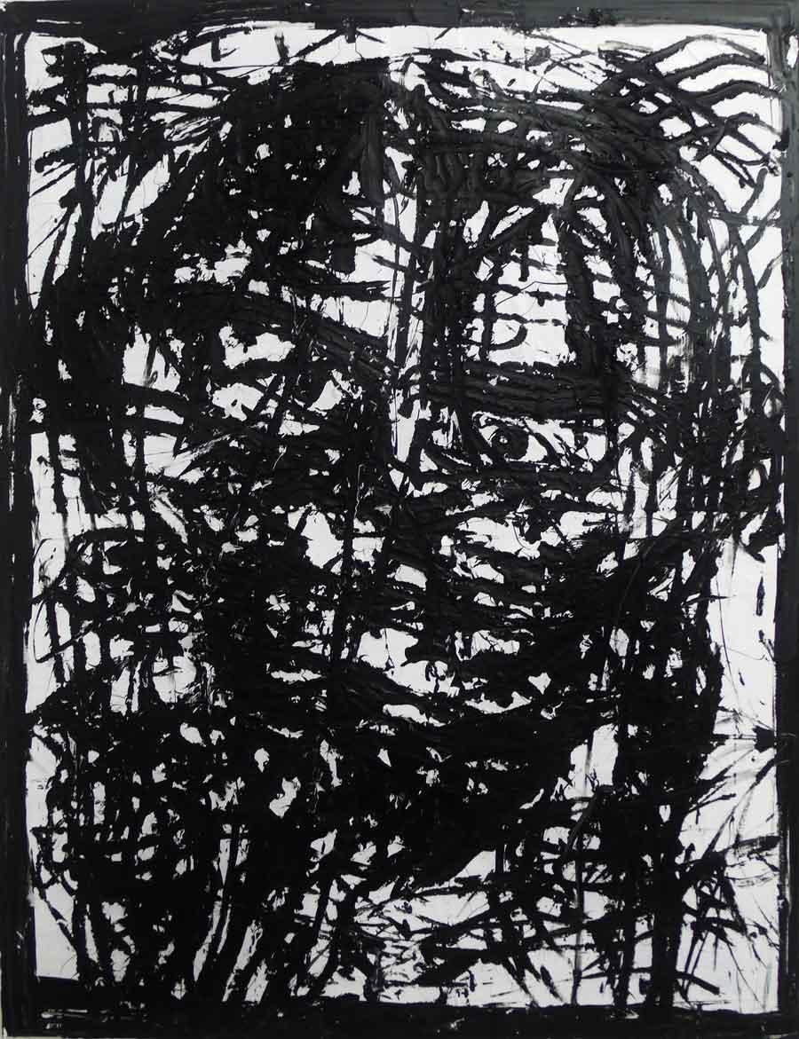 "Michi Lukas, aus der Serie ""too big to fail"": ""o.T. 2"", 120 x 155 cm, Öl auf Leinwand, 2013"