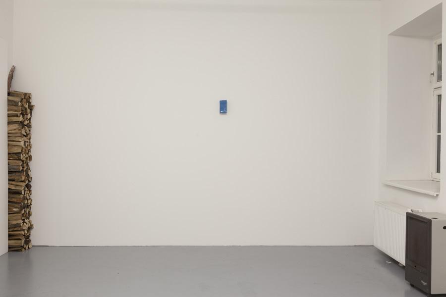 Marcus Geiger, Installationsansicht Kunstraum am Schauplatz, Foto © Björn Segschneider
