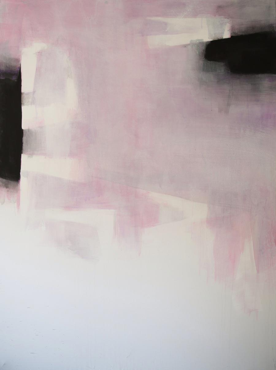 """Walter Vopava, """"o.T."""", 200 x 150 cm, Acryl auf Leinwand, 2014"""